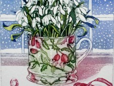 Snowdrops in a Cup