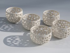 Perforated T Light Holders