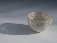 Wave Bowl with Simple Perforations